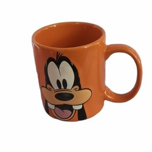 Disney Goofy Face Orange 11oz Mug Jerry Leigh